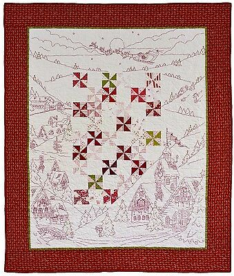 Crabapple Hill Studio Twas The Night Before Christmas Quilt Pattern
