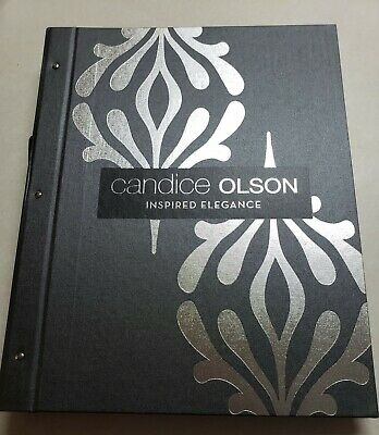 Candace Olsen Inspired Elegance Wallpaper Sample Book Scrapbooking Paper Crafts