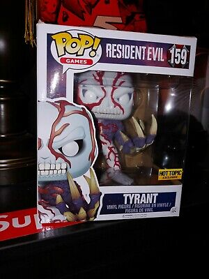 LOOK! Funko POP! Games Resident Evil Tyrant #159 Hot Topic Exclusive 6""