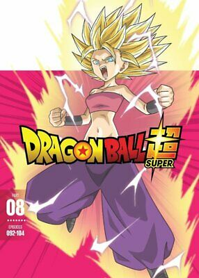 Dragon Ball Super: Part 8 | Dvd | New | Episodes 092-104 | Anime | Ships 7/2