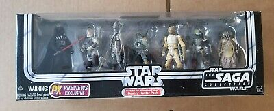Star Wars 2005 Saga Collection Hunt for the Millennium Falcon Bounty Hunter Pack
