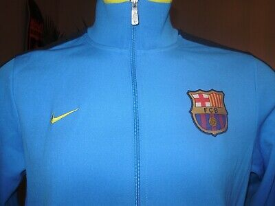 4f6671bcfe2 FC BARCELONA TRACK JACKET MESSI SOCCER Authentic official NEW 2015 ...