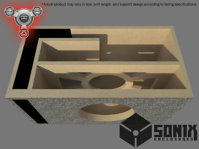 Stage 2 - Ported Subwoofer Mdf Enclosure For Alpine Swx-12 Sub Box