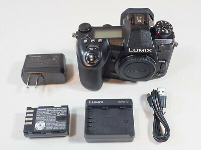 Panasonic Lumix DC-G9 Mirrorless Micro 4/3s Digital Camera Body