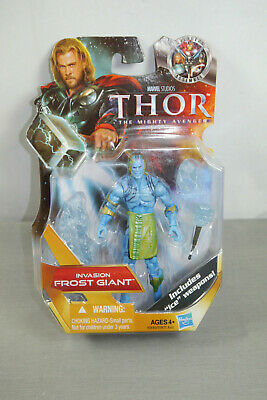 Marvel Thor the Mighty Avenger Invasion Frost Giant Hasbro Approx. 12 cm New (L)