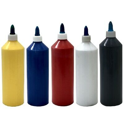 ACRYLIC ARTIST PAINT, 500ml BOTTLES, pack of 6 SPECIAL