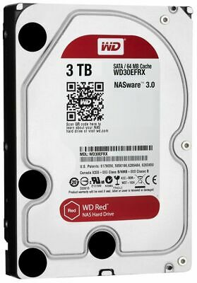 Genuine Western Digital WD30EFRX NAS HARD DRIVE Red 3TB HDD WD30EFRX-68AX9N0