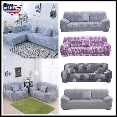 New 1/2/3/4 Seater Sofa Slipcover Furniture Couch Protector Elastic Cover Home