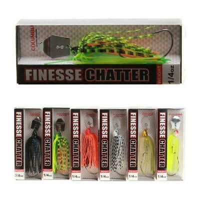 Spinner Bait Fishing Lure 18g For Bass Pike Trout Casting Spinning 6 Colors I3Q0