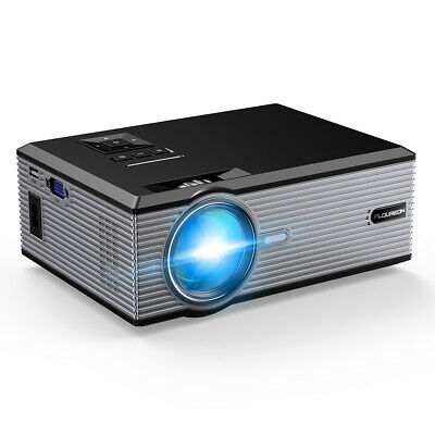 FLOUREON BL-88 proyector Projector Nero VGA USB AV SD HDMI TV Movie proyector