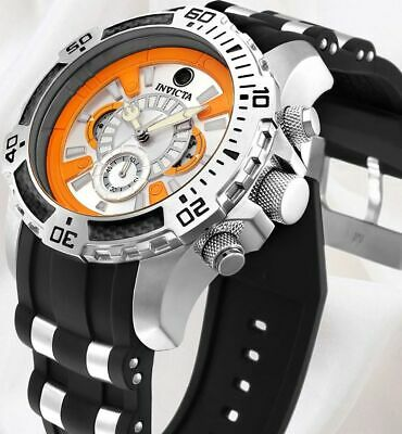 Invicta Men's Scuba Limited Edition BB-8 Star Wars Pro Diver Chrono Orange Watch