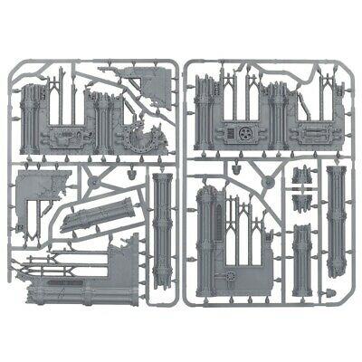 -- GOTHIC RUINS -- sector imperialis scatter terrain scenery walls warhammer 40k