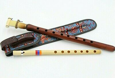DUDUK ARMENIAN  reed + best case+ flute FROM ARMENIA Hand made APRICOT WOOD 100%