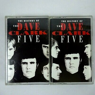 The Dave Clark Five The History of Double Cassette 1993 Hollywood Records