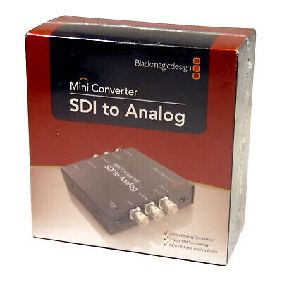 Blackmagic Design CONVMASA Mini Converter SDI to Analogue