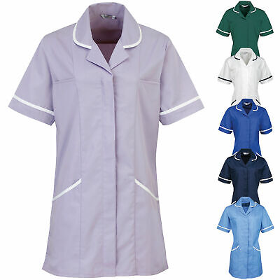 Womens Vitality Healthcare Tunic Nurse Dentist Carer Hospital Uniform Workwear