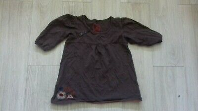 Girls Next Age 7 Years Brown 12 Length Sleeves Top Mint Condition