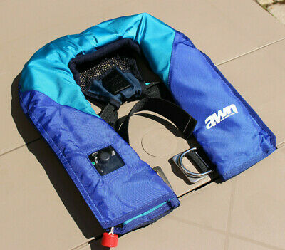 Secumar AWN Automatikweste Safety Junior 20- 45kg Schwimmweste Weste Rescue blau