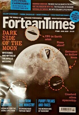 Fortean Times Magazine June 2019 # 380 = Mooning The Facts = Freaks And Fakes