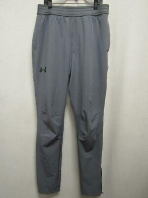 Under Armour 1285078 Men's WG Woven Relaxed Fit Athletic Pants Gray Mens M