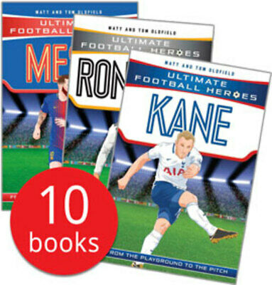 Ultimate Football Heroes Collection - 10 Books