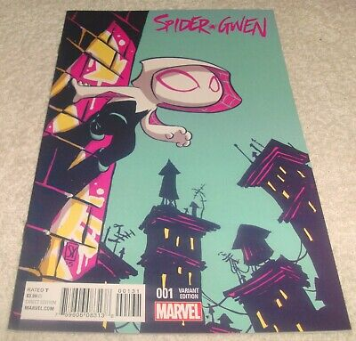 MARVEL COMICS SPIDER-GWEN # 1 VF+NM 1st PRINT SCOTTIE YOUNG VARIANT