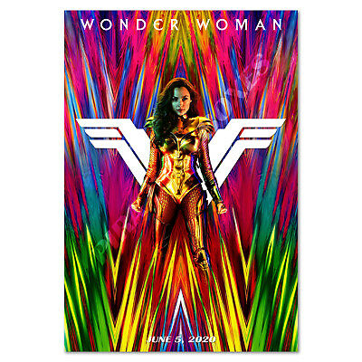 Wonder Woman 1984 Poster - Promotion Art - High Quality Prints