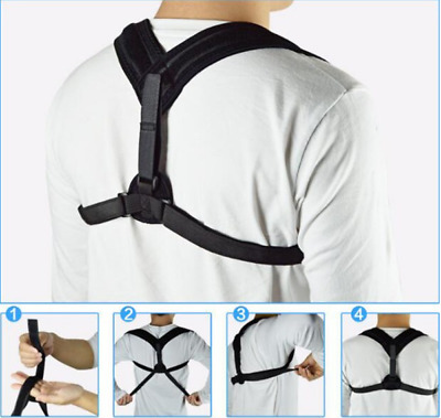 Sale Adjustable Posture Corrector Support Brace For All Ages, Family Health Gift