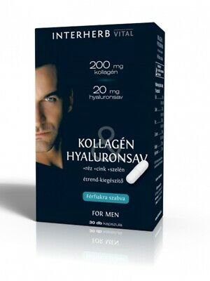 Skin Beauty for MEN Anti-Aging Formula collagen & Hyaluronic Acid 30 caps
