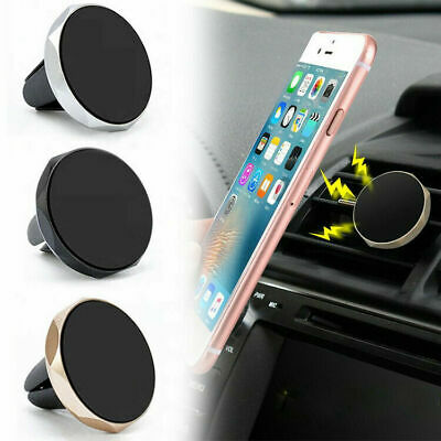 Car Magnetic Air Vent Mount Holder Ultra-For GPS Mobile Cell Phone Stand Clip