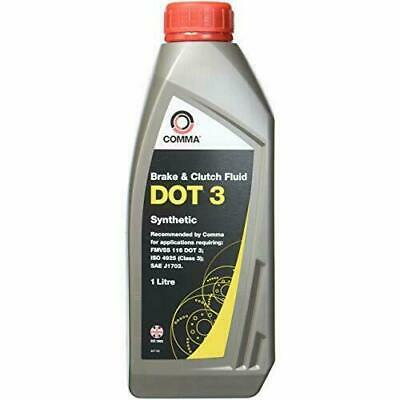Comma DOT 3 Synthetic Brake Fluid 1L BF1L