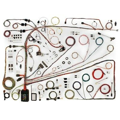 1962-65 Ford Fairlane Classic Update American Autowire Wiring Harness Kit 510553