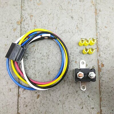 1947-54 chevy truck air compressor wiring harness kit bag suspension gmc v8  235