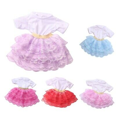 Adorable Fairy Patchwork Gauzy Skirt Casual Outfits for 18inch American Doll