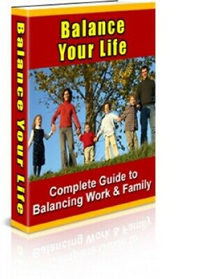 Balance Your Life pdf ebook Free Shipping With master Resell Rights