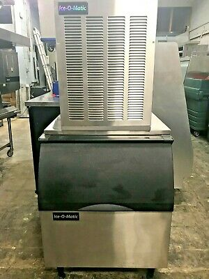 Ice O Matic Nugget (Sonic) Ice Maker and Bin