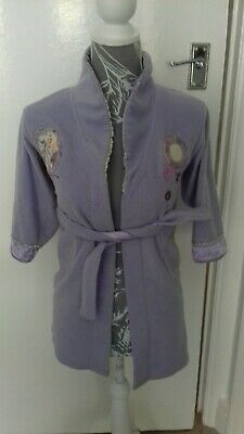 Girls Ladybird 5-6 Years Purple Barbie Dressing Gown Mint Condition