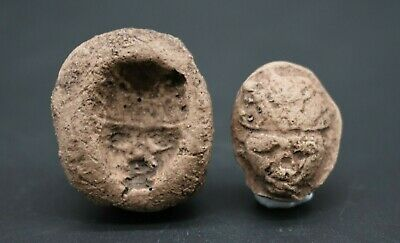 Ancient Egyptian style Amarna amulet & mould