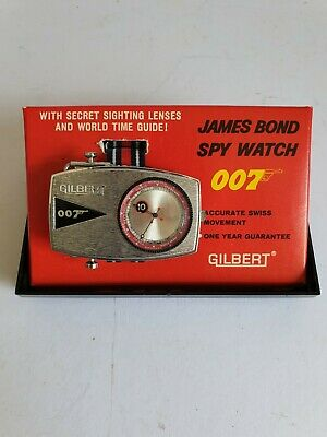 Gilbert James Bond Spy Watch