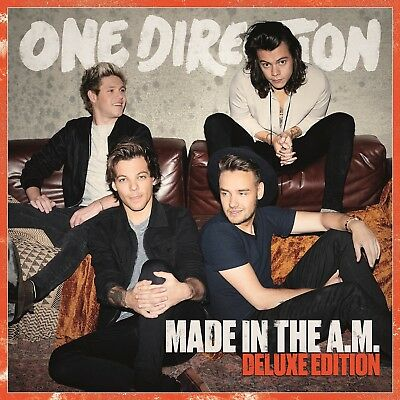 One Direction - Made In The A.m.  Cd Deluxe Edition New