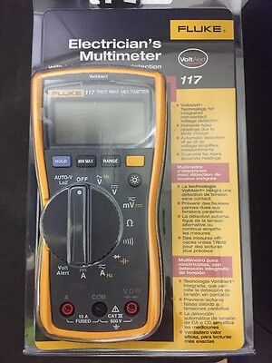 FLUKE 87 MULTIMETER with manual leads case & new LCD