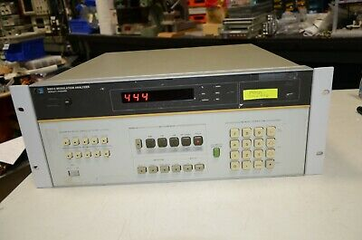 HP Agilent 8901A Modulation Analyzer 001 002