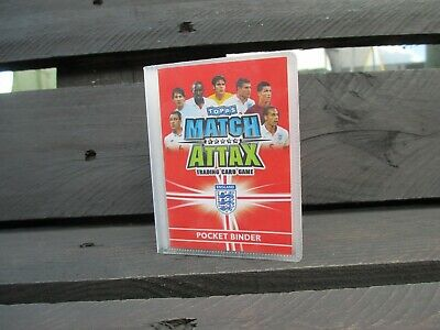Match Attax Attack World Cup 2010 - Mini Pocket Binder Filled With Cards - Rare!