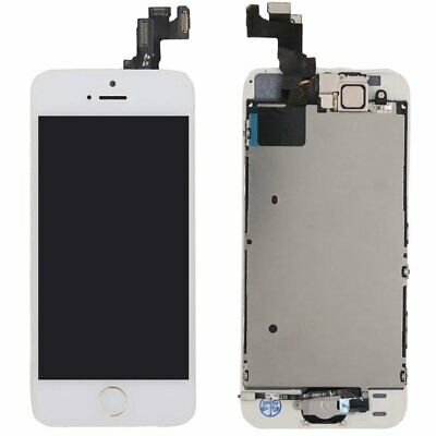 OEM  iPhone SE White LCD Display Screen Digitizer Home Button Camera Replacement