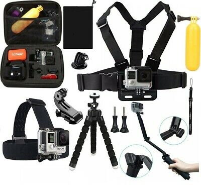 GoPro HERO7 Black Action Camera Accessories Kit For Go Pro Hero 7/6/5 New Model
