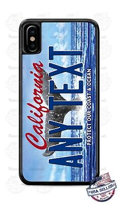 California State License Plate Personal Phone Case Fits iPhone Samsung LG Google