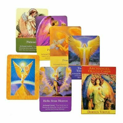 45pcs Magic Tarot Card Deck Archangel Oracle Cards Earth Magic Fate & Guidebook