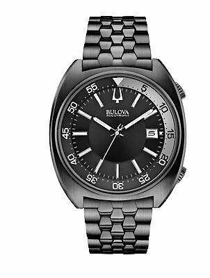 Bulova Men's Snorkel Collection Quartz Black Dial Bracelet 43mm Watch 98B219