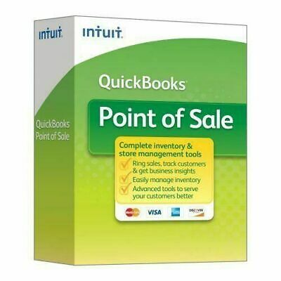 Intuit QuickBooks Point of Sale v 18.0 Basic New User from Certified Reseller