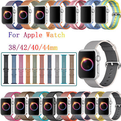 Nylon Straps Band for Apple Watch Sport iWatch Series 4/3/2/1 38/42mm 40/44mm